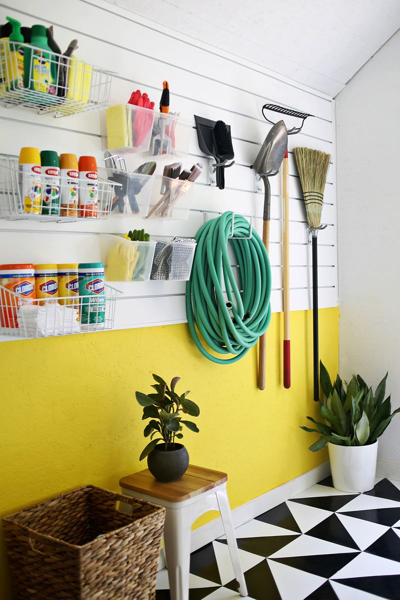 clever garage to your declutter diy organization ways pegboard