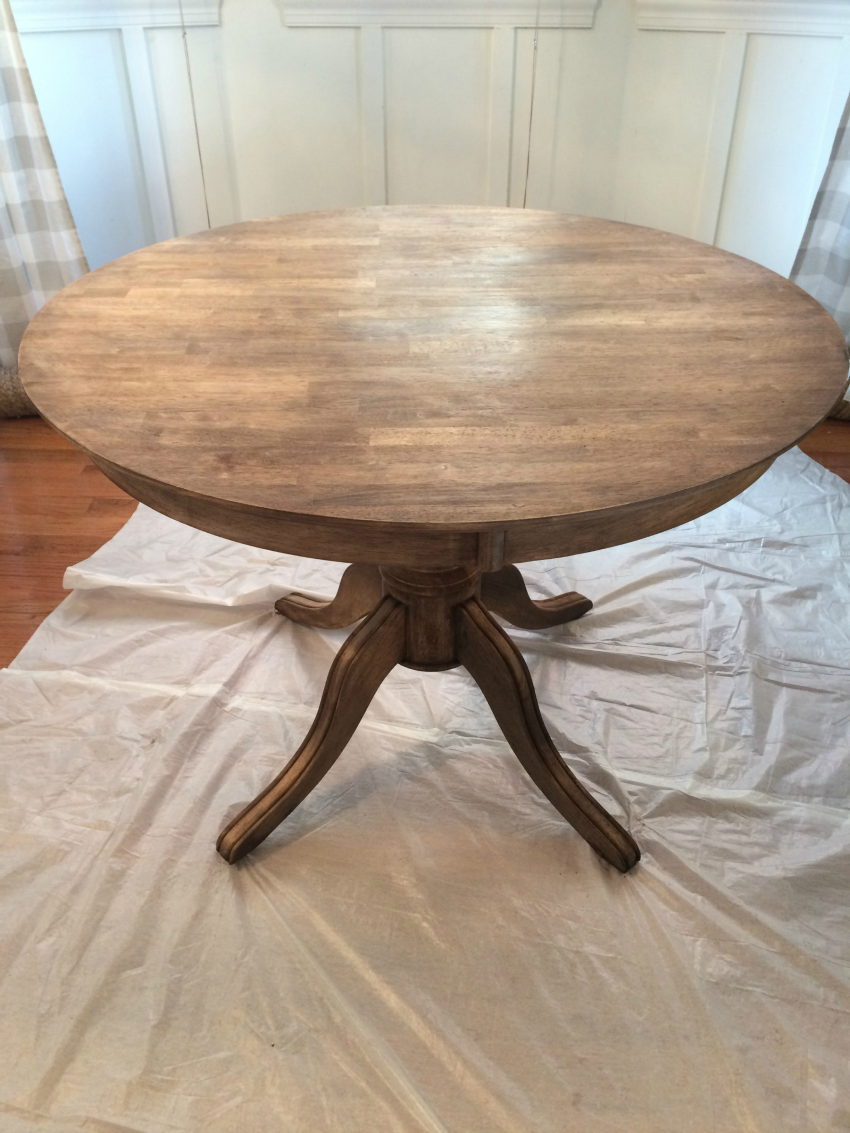 How to refinish a table for Redo furniture