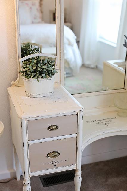 vanity makeover