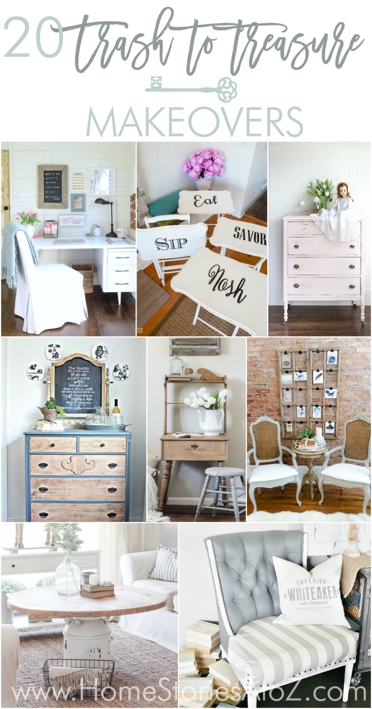 How to paint a vintage buffet home stories a to z - Great Furniture Makeovers From Thrift Store Finds