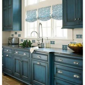 World Market Store Finds 23 Gorgeous Blue Kitchen Cabinet Ideas