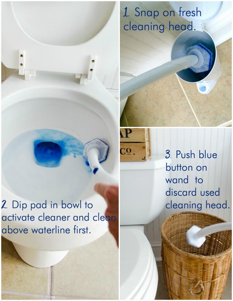 Clorox toilet wand