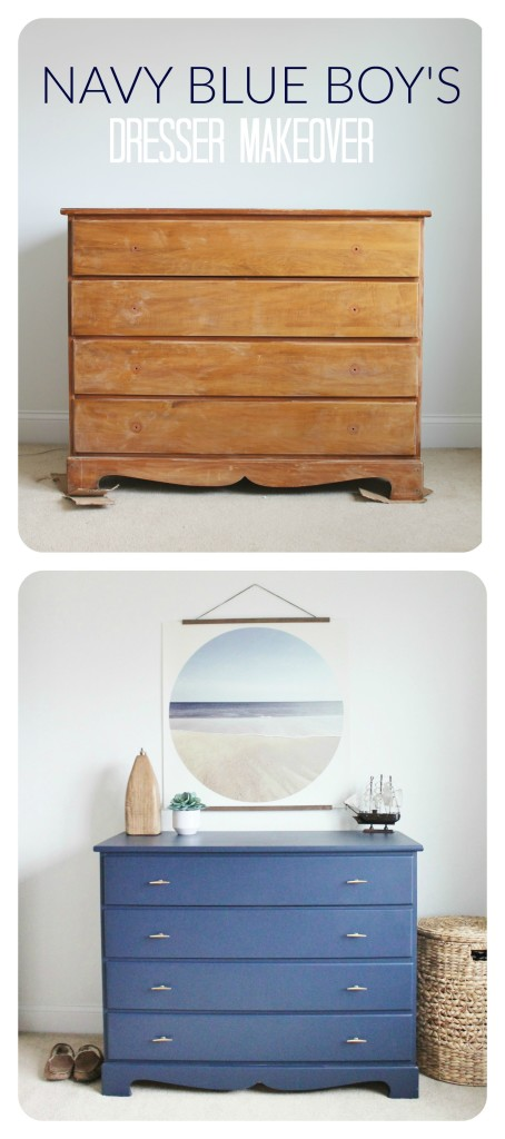 Navy-Blue-Dresser-Makeover-Perfect-for-a-Little-Boy-454x1024