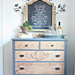 Thrifted-Dresser-painted-sanded-for-a-2-toned-look