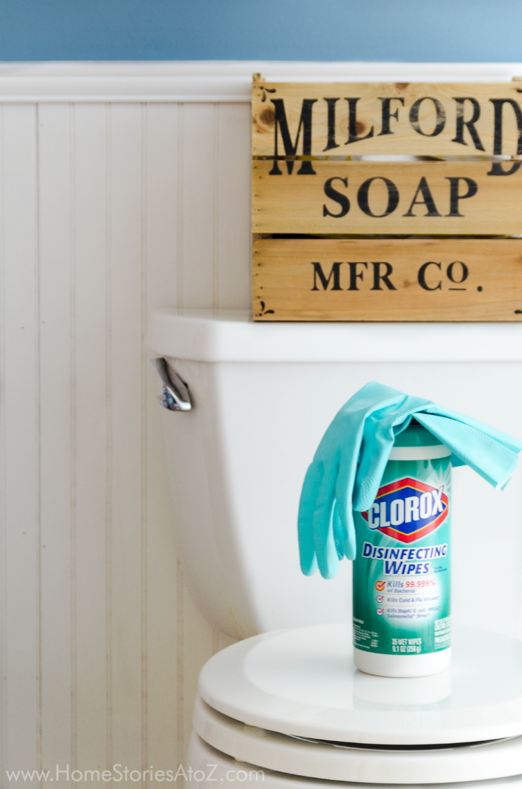 Tips to cleaning a toilet
