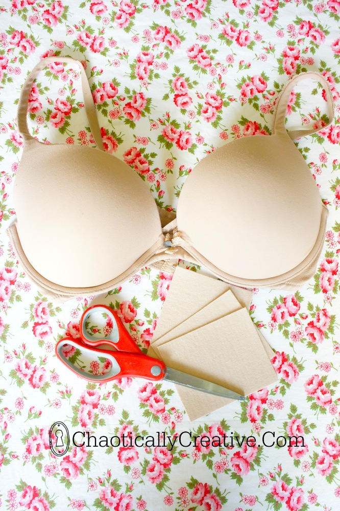 how to repair an underwire bra