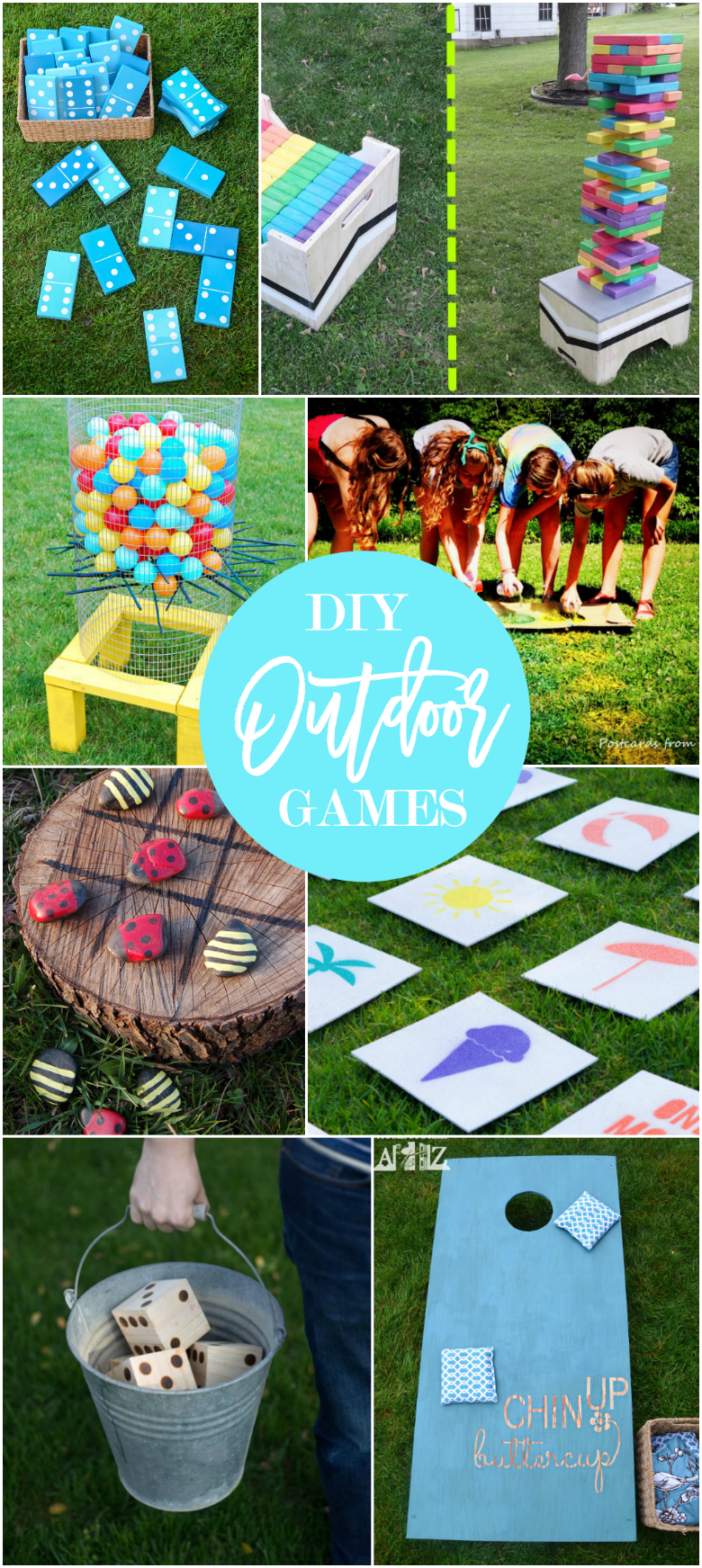 17 DIY Games for Outdoor Family Fun - Home Stories A to Z