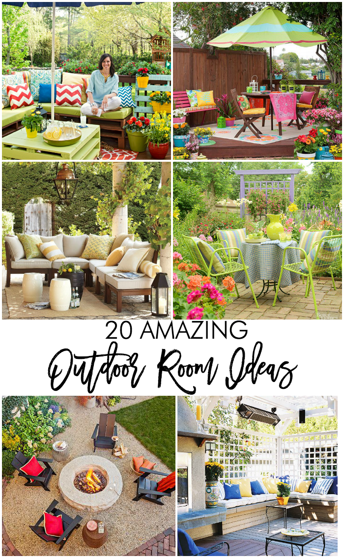 20 amazing outdoor room ideas