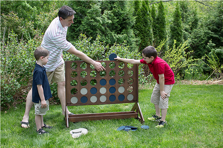 DIY Outdoor Connect Four Tutorial