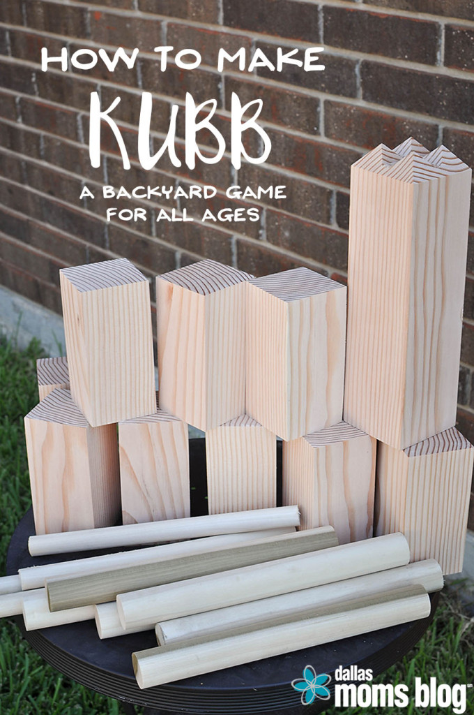 DIY kubb tutorial