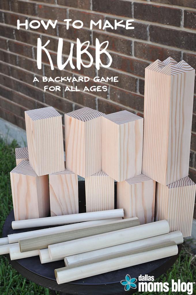 DIY kubb tutorial