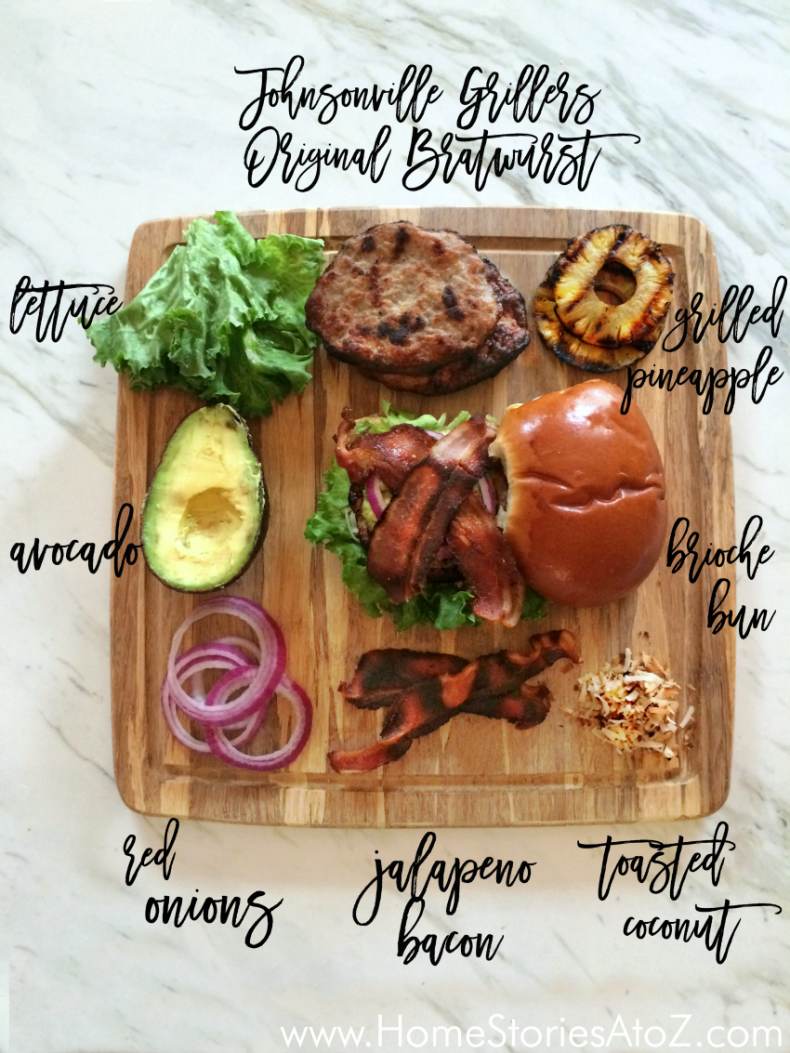 Hawaiian sausage burger recipe home stories a to z for Gourmet meals to make at home
