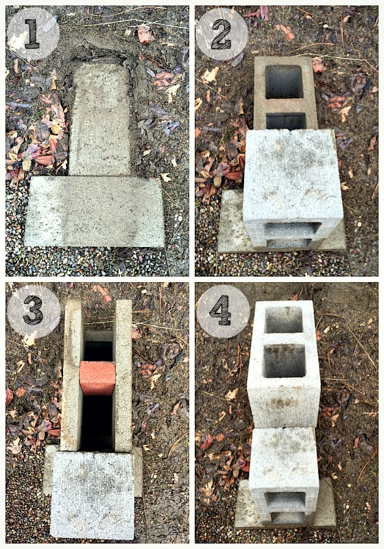 50 backyard hacks home stories a to z for How to make a rocket stove with bricks