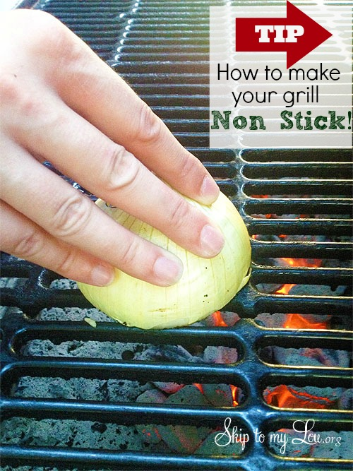 How to make your grill nonstick