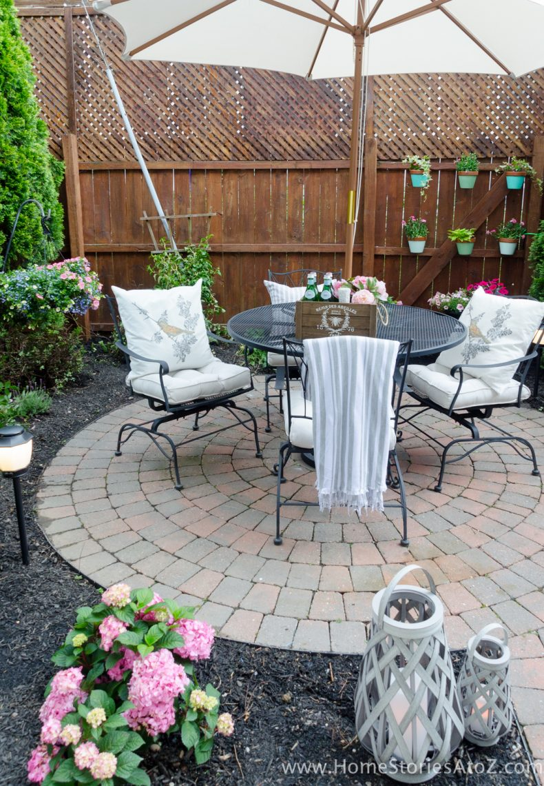 Urban Backyard Makeover with Outdoor Mosquito Repellent ... on Small Outdoor Patio Ideas id=81714
