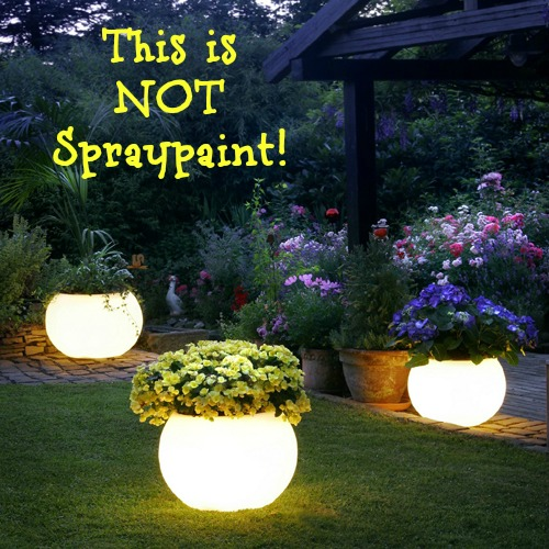 Solar Powered Planters