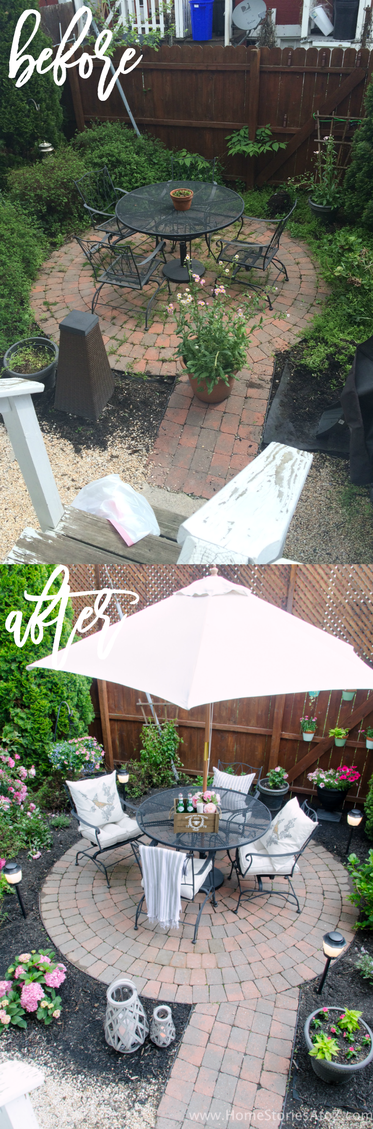 Urban Backyard Makeover with Outdoor Mosquito Repellent ... on Outdoor Patio Makeover id=44345