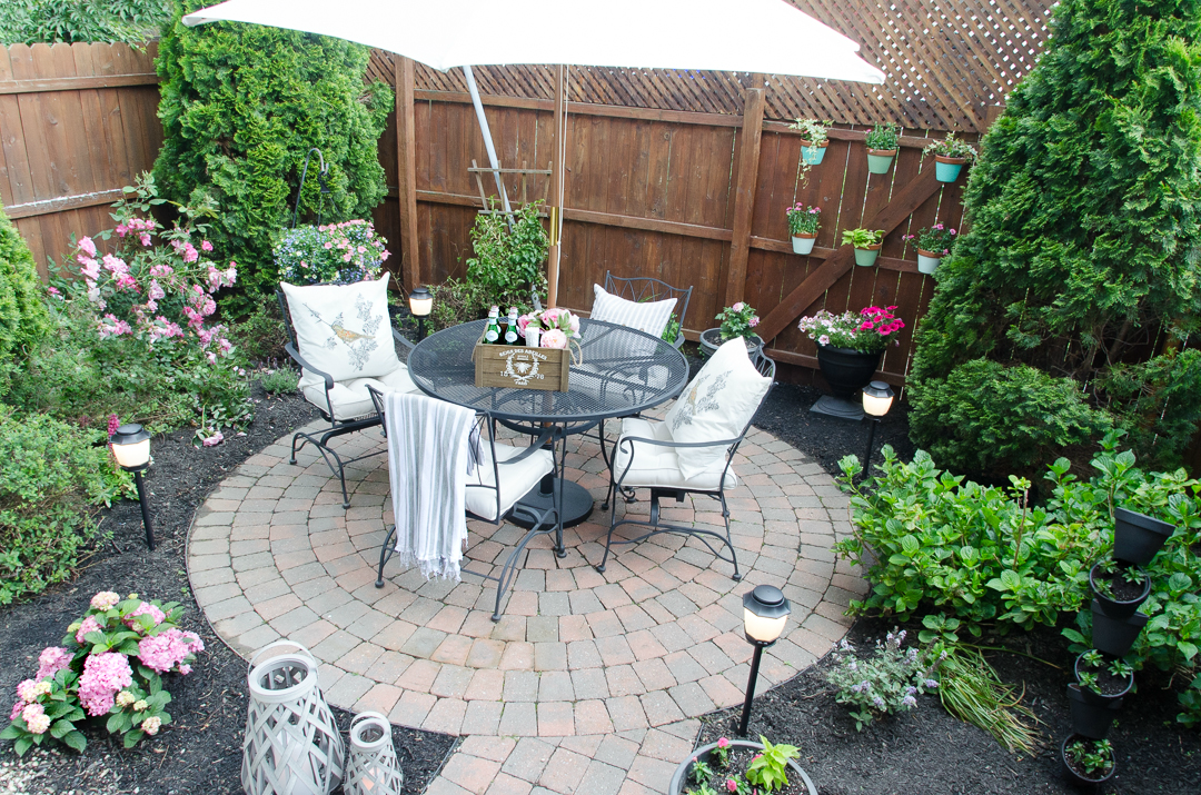 Urban Backyard Makeover with Outdoor Mosquito Repellent ... on Outdoor Patio Makeover id=91609