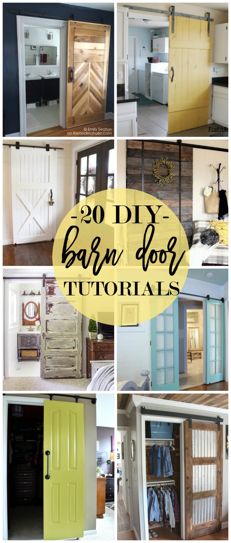 Barn Door For Kitchen 20 Diy Barn Door Tutorials