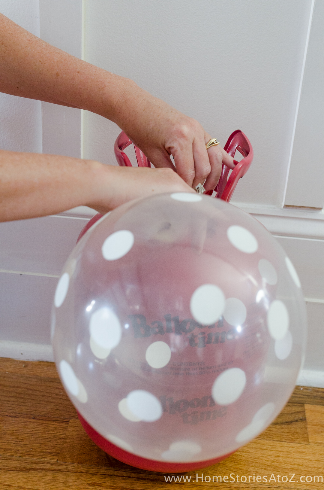 How To Make A Balloon Topiary Ball Fourth Of July Decorations