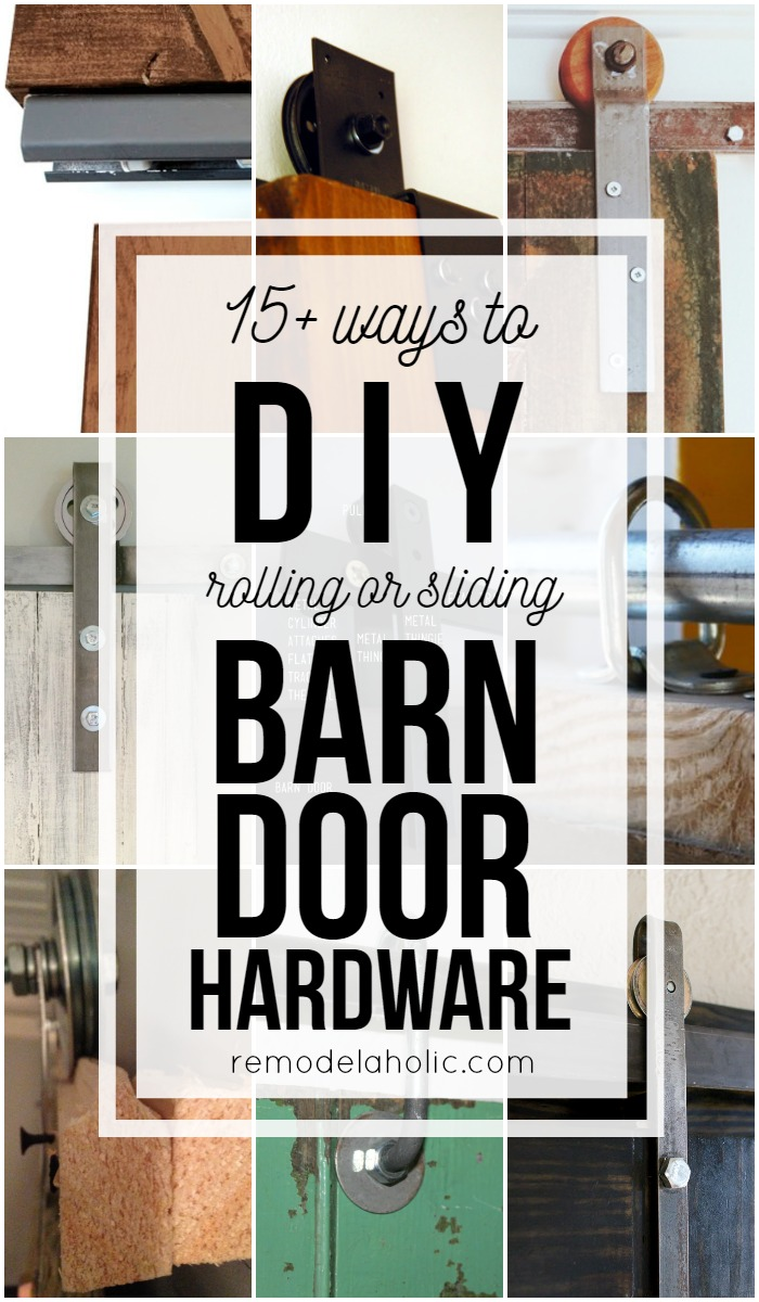 barn interior build diy furniture tutorials door style hardware doors