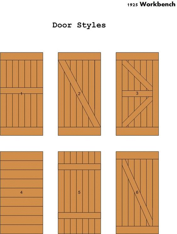 20 diy barn door tutorials - Barn door patterns ...