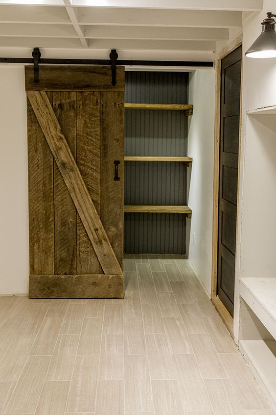 Barn Door for the Pantry