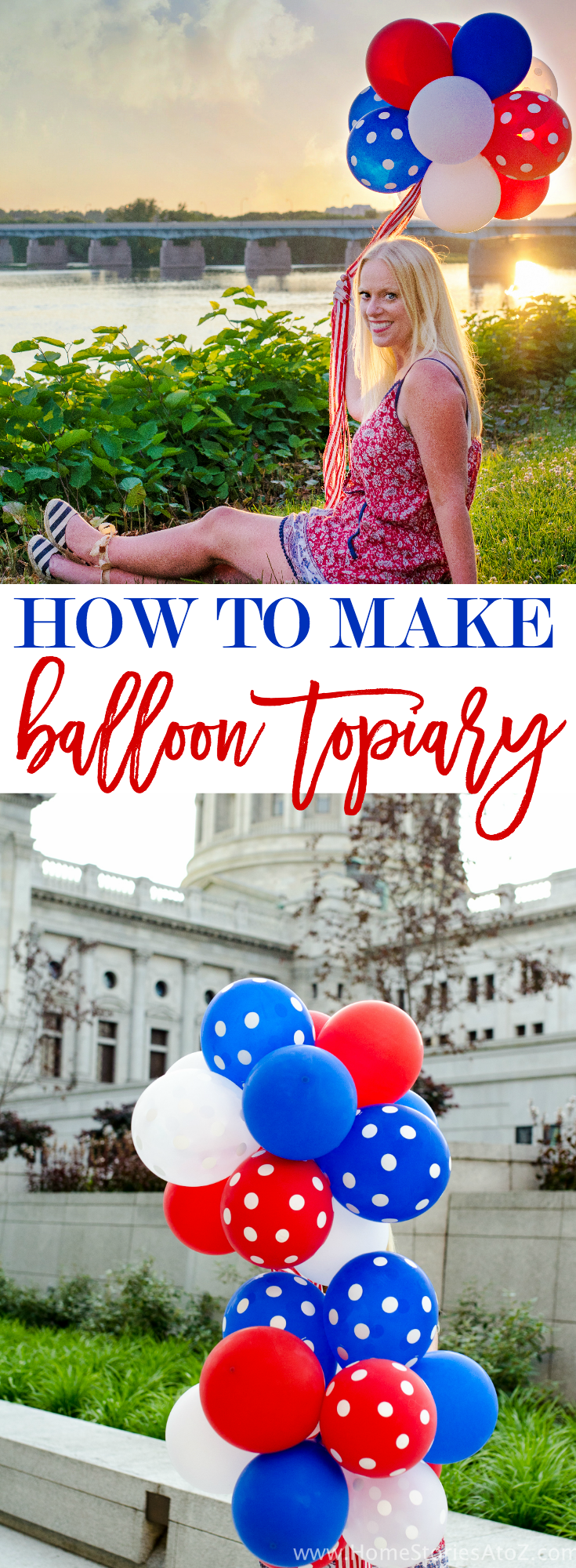 How to Make a Balloon Topiary Tutorial with video