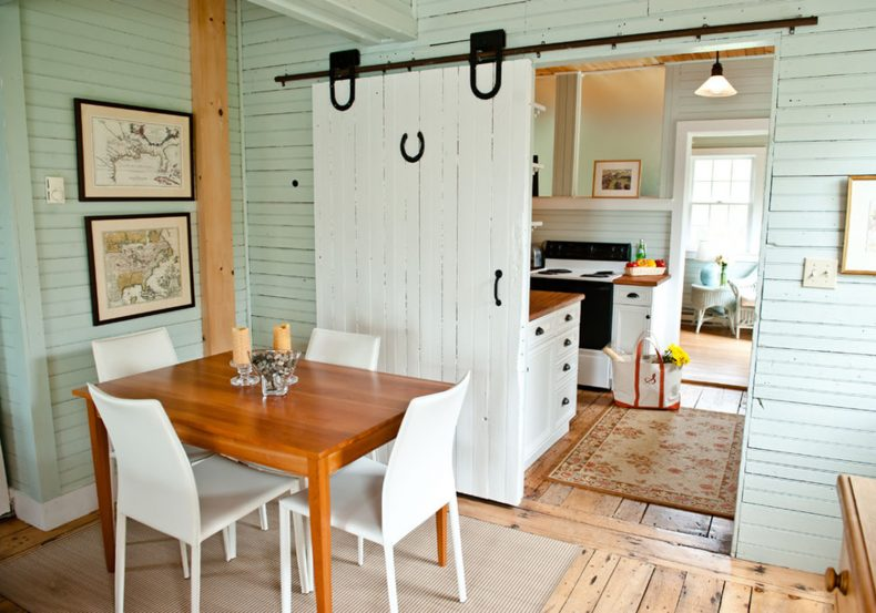 Kitchen Barn 20 diy barn door tutorials