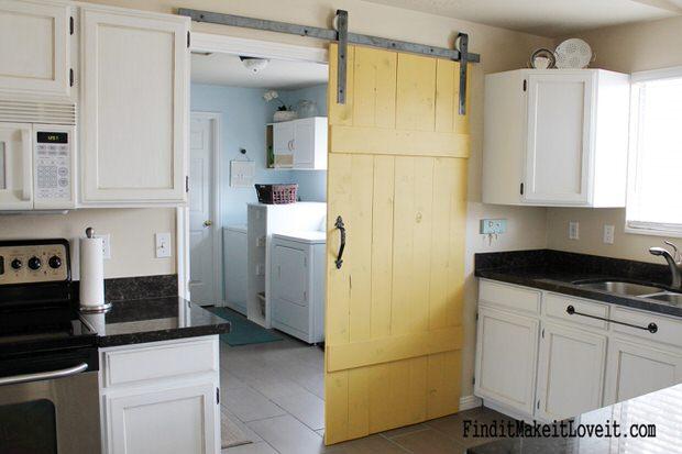 Diy Barn Style Bathroom Door: 20 DIY Barn Door Tutorials