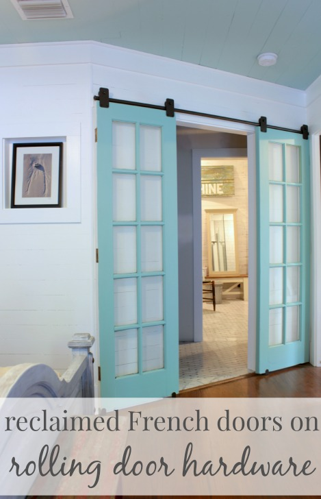 20 diy barn door tutorials for Can you put screens on french doors