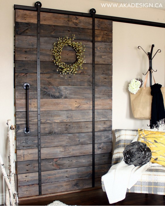 20 diy barn door tutorials upcycled barn door aka designs planetlyrics Images