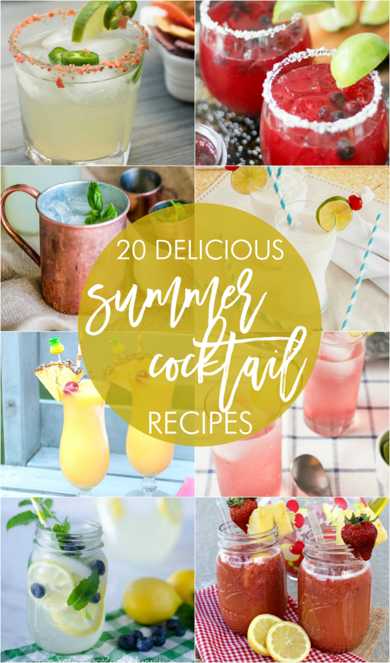 20 delicious summer cocktail recipes