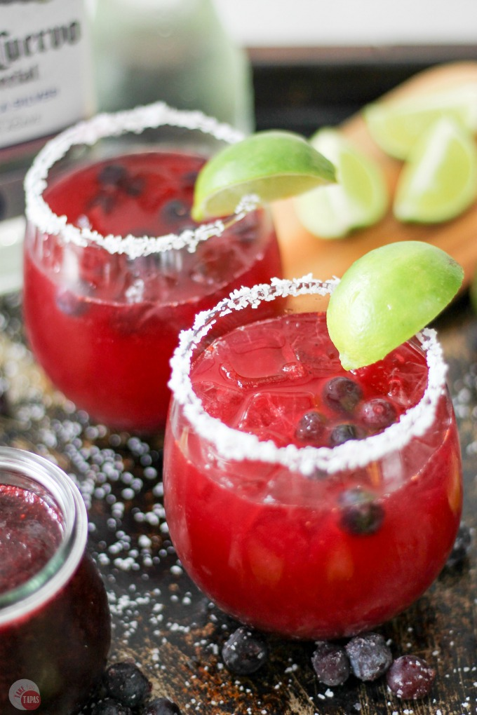Blueberry-Margarita