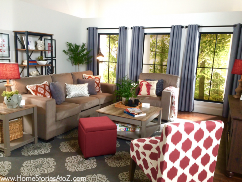 Living room Better Homes and Gardens Walmart