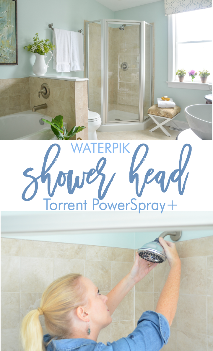 Love this budget-friendly Waterpik shower head