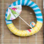 Summer Wreath Idea: Beach Umbrella Wreath Tutorial