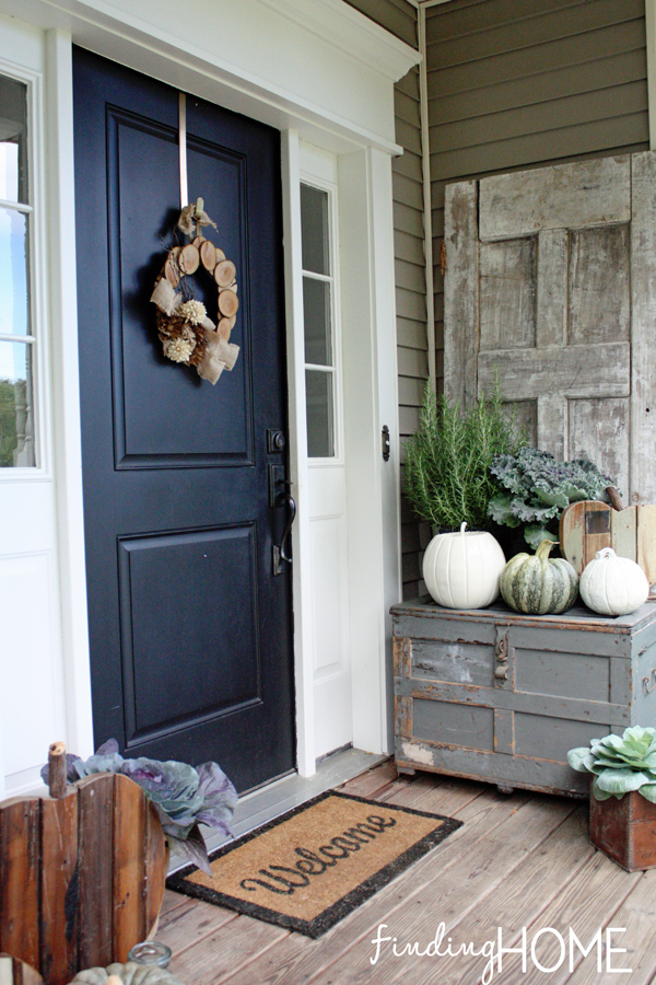 Fall Front Porch Finding Home
