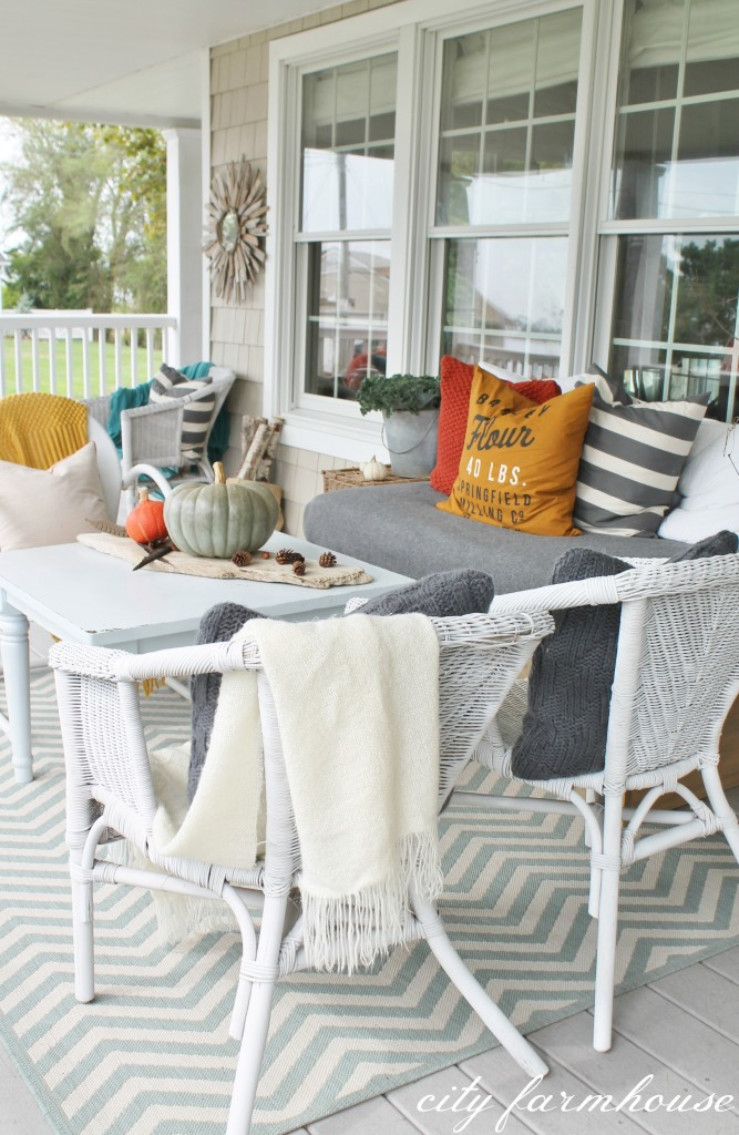 Fall Porch City Farmhouse