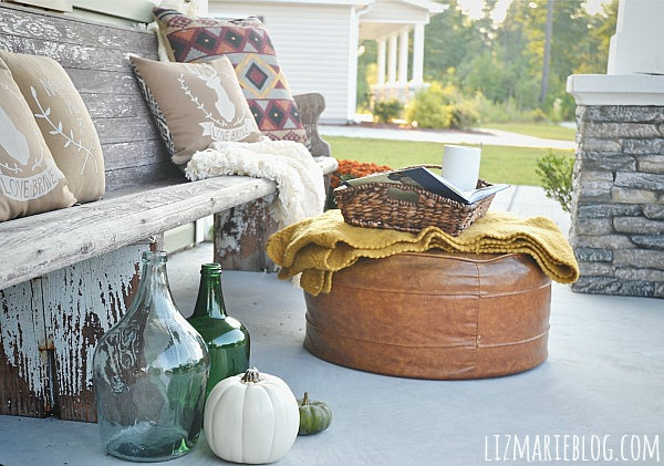 Fall Porch Liz Marie Blog