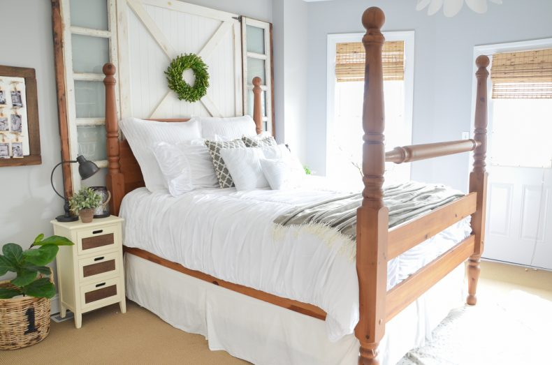 Farmhouse 4 Poster Bed