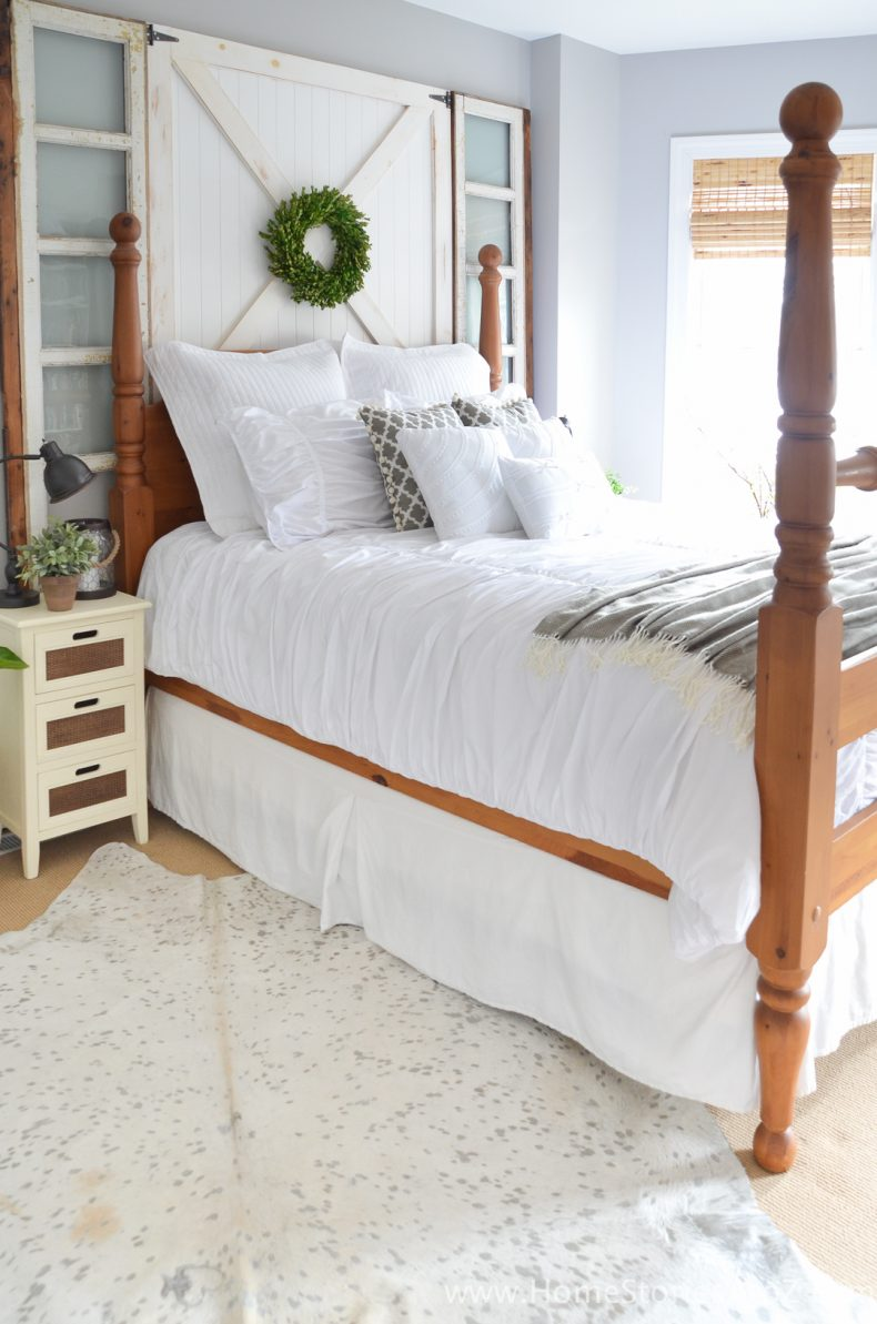 5 Affordable Tips to Creating a Modern Farmhouse Look in the Bedroom