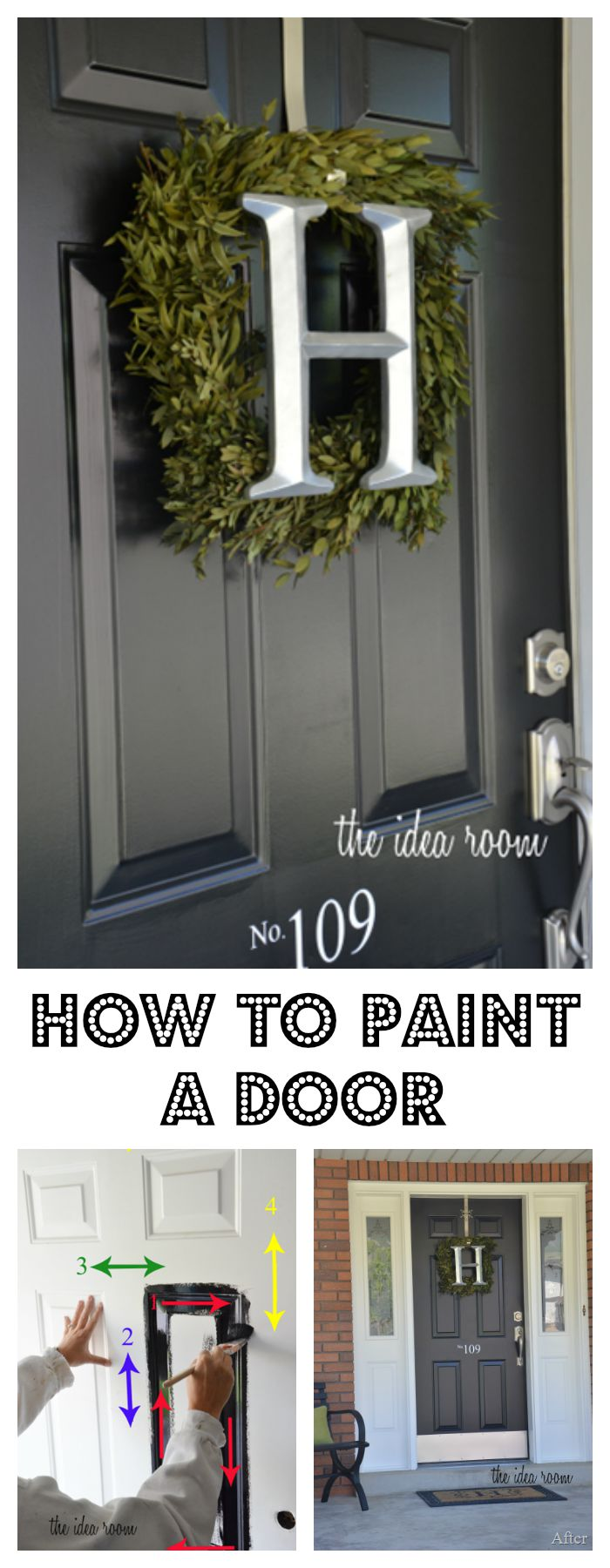 How to Paint a Door