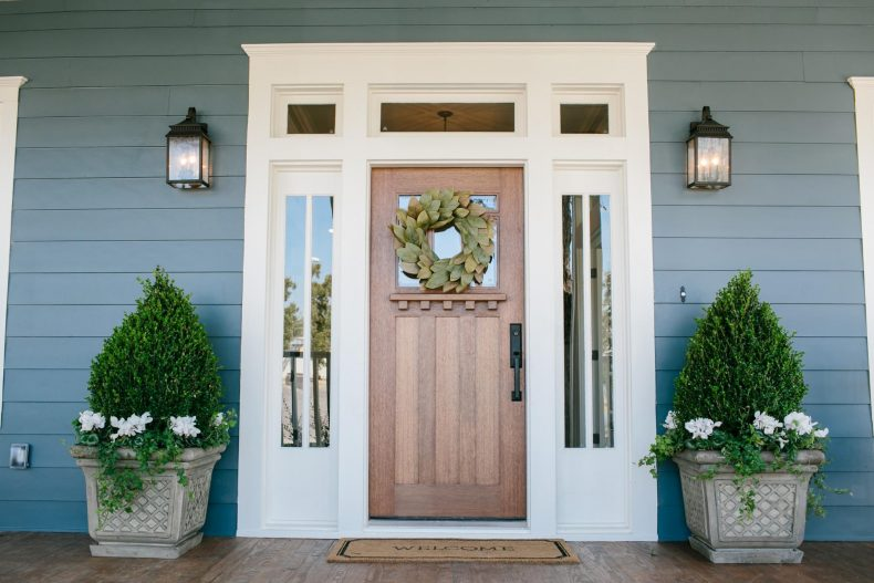 Magnolia Market Wooden door
