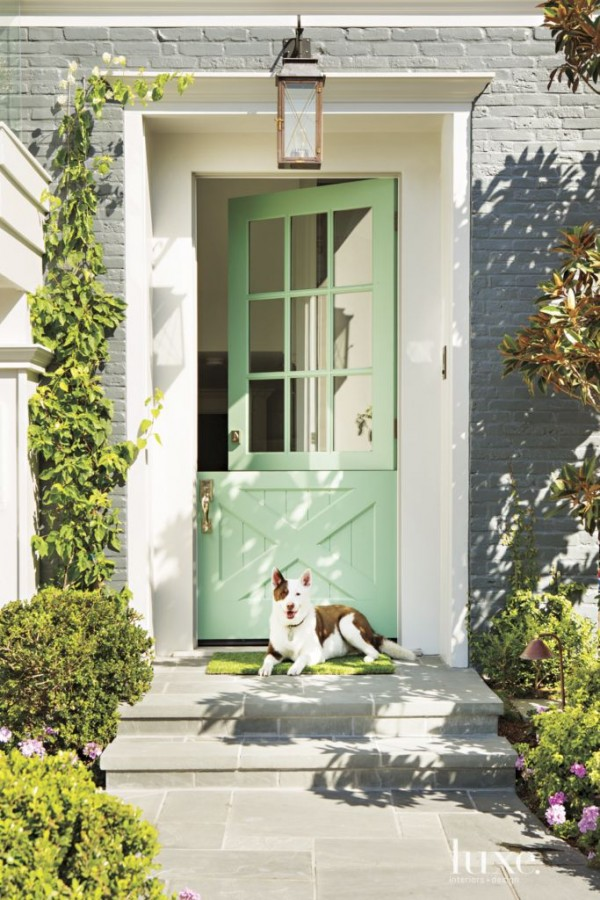 27 best front door paint color ideas for Front of house magazine
