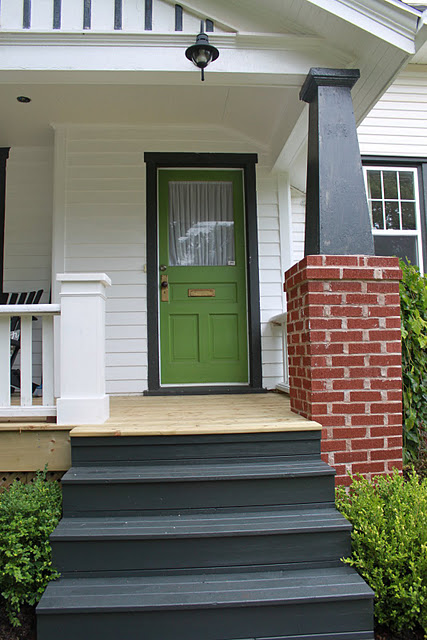 27 best front door paint color ideas home stories a to z Dark green front door paint