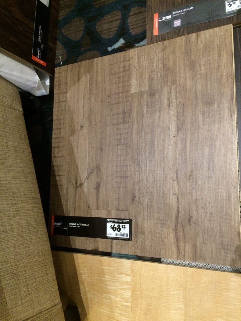 Shaw flooring sample
