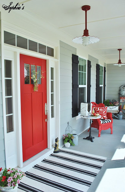 Sherwin Williams Primary Red Sophias Decor