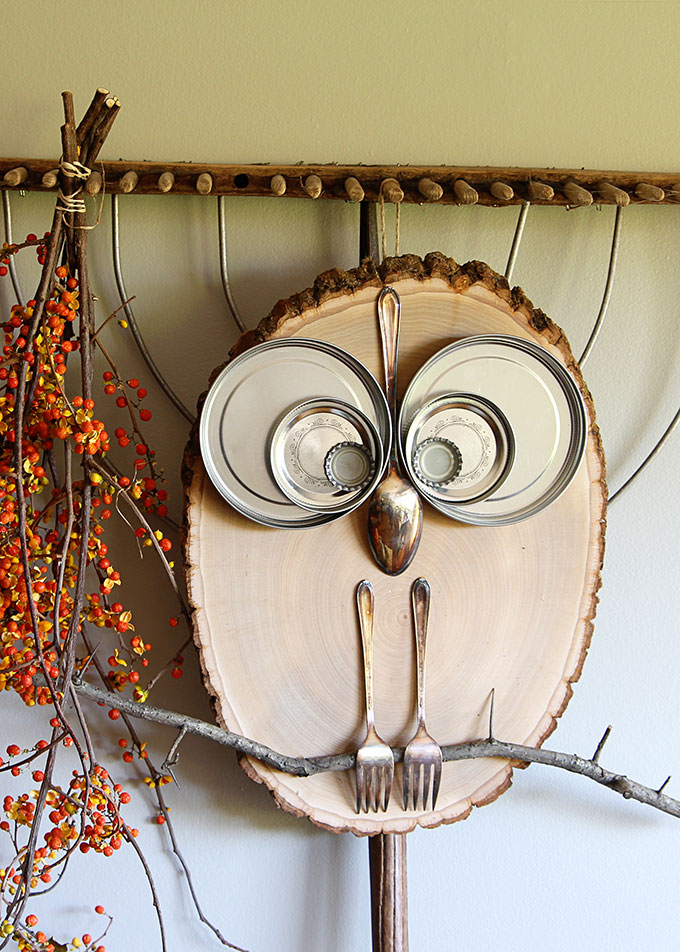 Wood Slice Fall Craft House of Hawthornes