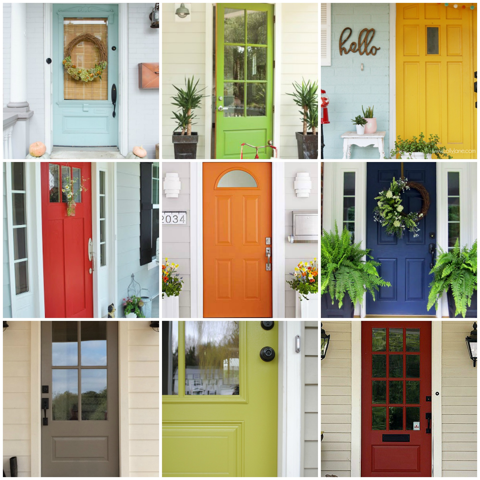 27 Best Front Door Paint Color Ideas - Home Stories A to Z on Gate Color Ideas  id=79206